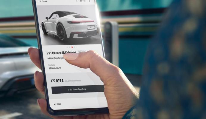 Porsche pilots online vehicle sales in the U.S. and Germany