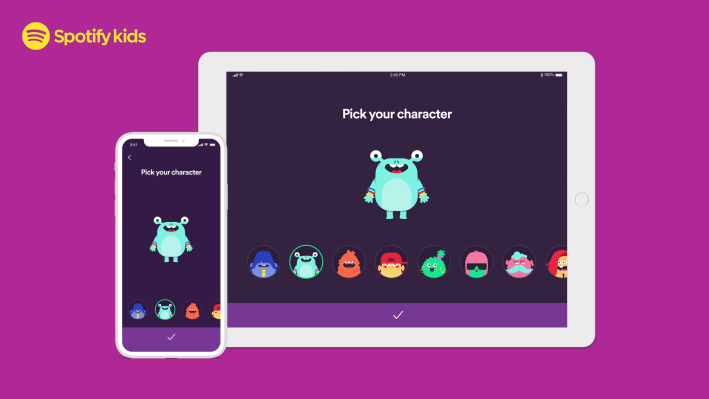 Spotify launches a dedicated Kids app for Premium Family subscribers