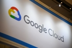 Signage for Google Cloud is displayed at the Google Inc. booth during the SoftBank World 2019 event in Tokyo, Japan, on Thursday, July 18, 2019. The founders of Southeast Asian ride-hailing giant Grab, indoor farming startup Plenty, Indian hotel chain OYO Rooms and payments service Paytm took the stage at an annual SoftBank conference to explain how artificial intelligence helps them stay on top in their respective fields. Photographer: Akio Kon/Bloomberg via Getty Images