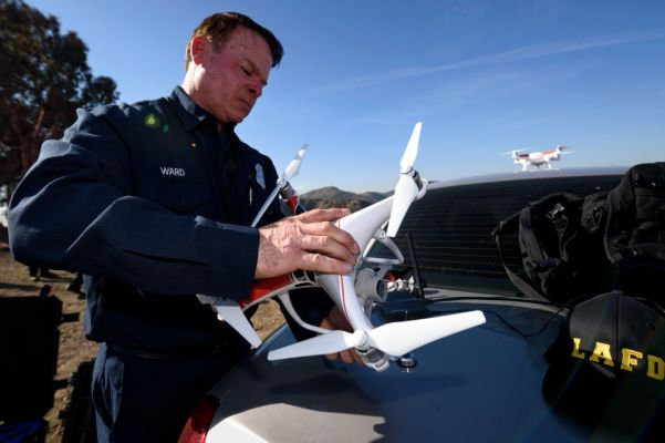The Los Angeles Fire Department wants more drones