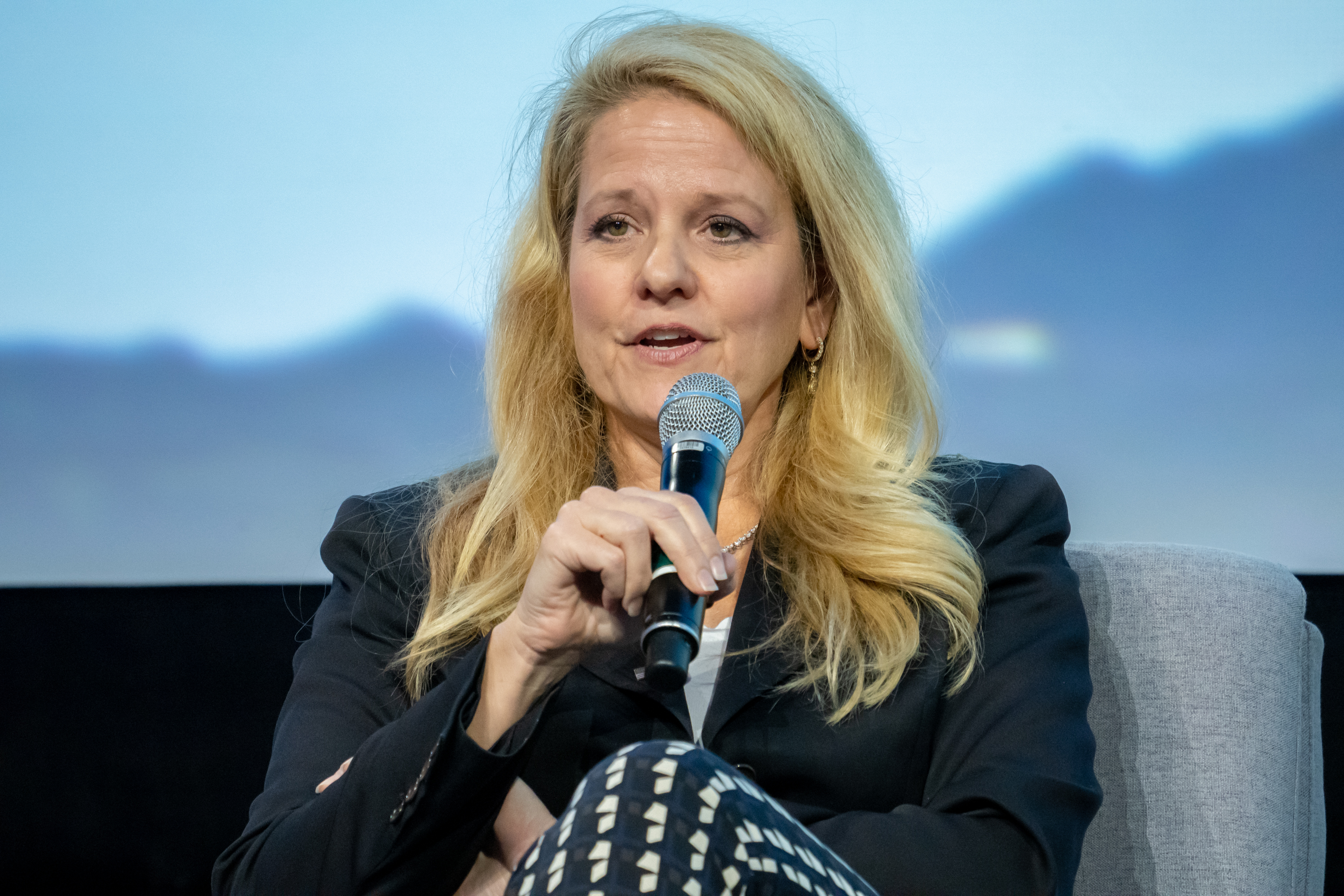 SpaceX President and COO Gwynne Shotwell at IAC 2019