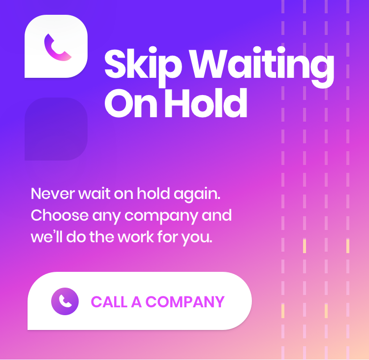 This app waits on hold for you