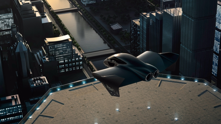 "Porsche and Boeing are partnering to develop ""premium"" electric flying cars"