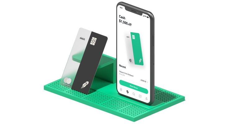 Robinhood revives checking with new debit card & 2% interest – TechCrunch