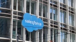 Salesforce logo Salesforce Tower