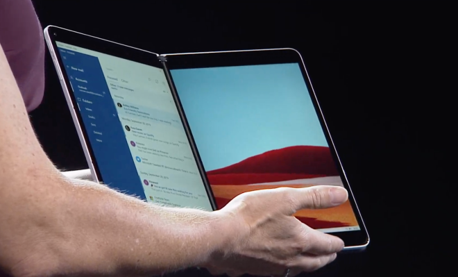 Microsoft introduces Windows 10 X for dual-screen devices