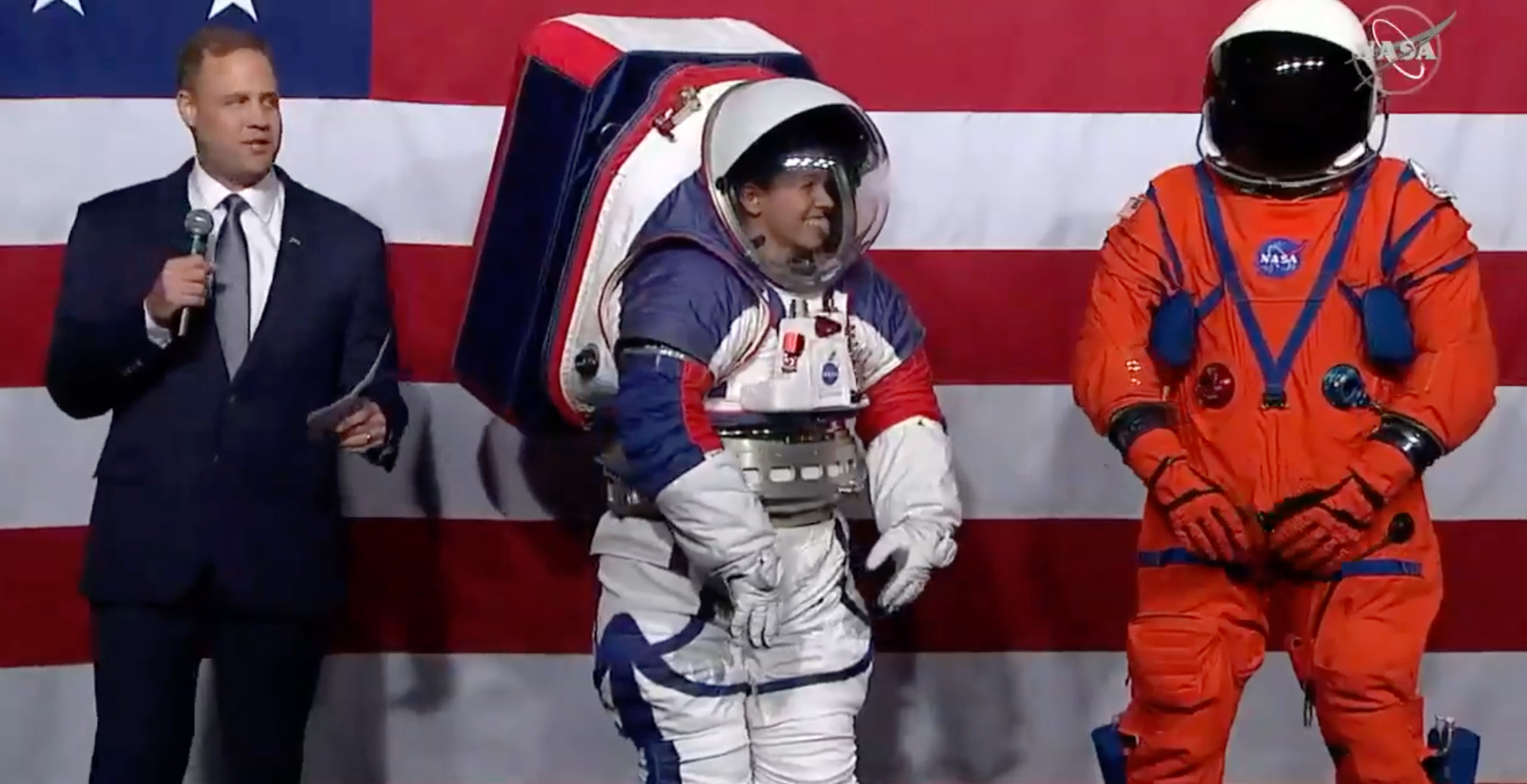 NASA Artemis spacesuits