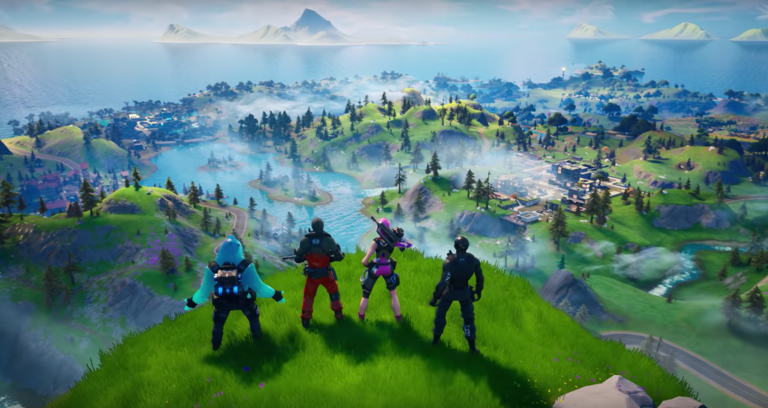 Fortnite Returns With The Launch Of A New Map For Chapter 2