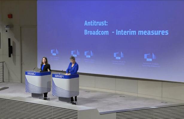Europe issues interim antitrust order against Broadcom as probe continues