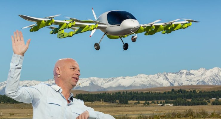 We'll have self-flying vehicles prior to self-driving cars and trucks, Thrun says