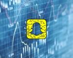 Snapchat Earnings Money stock photo