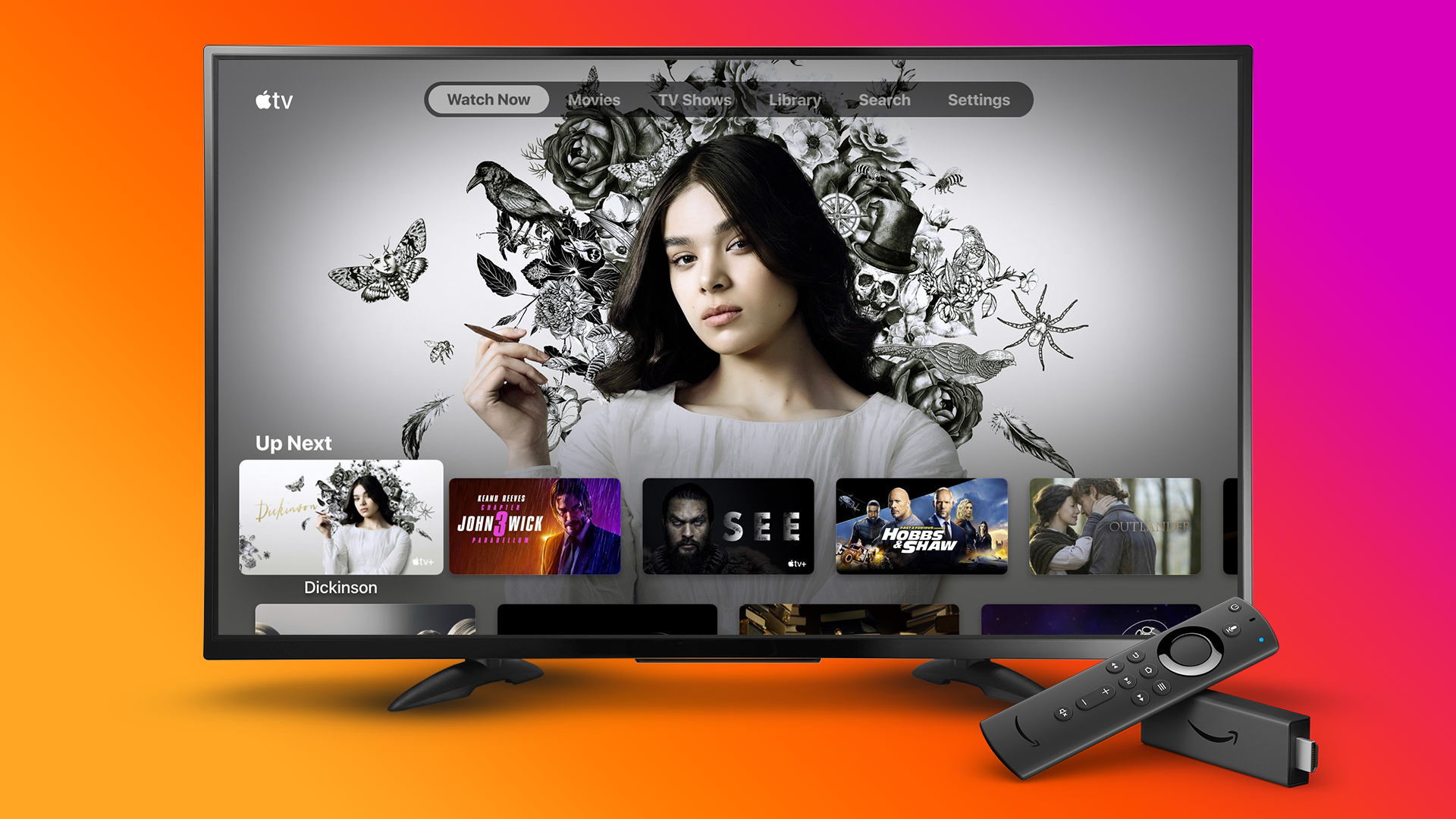 Apple TV app comes to Amazon's Fire TV Stick and other devices