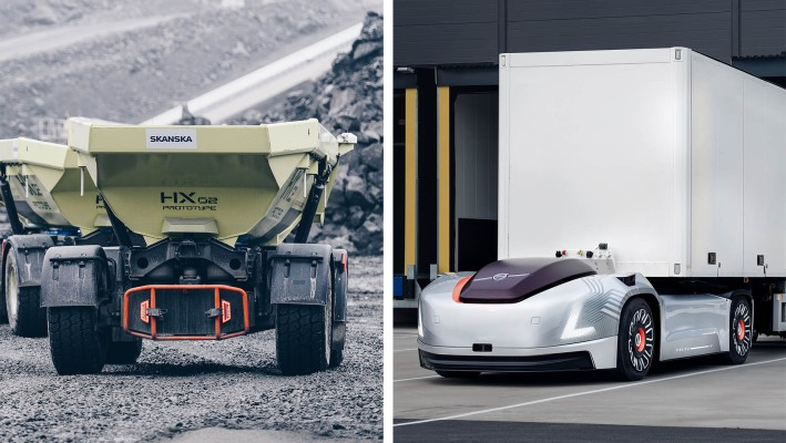 Volvo creates a dedicated business for autonomous industrial and commercial transport