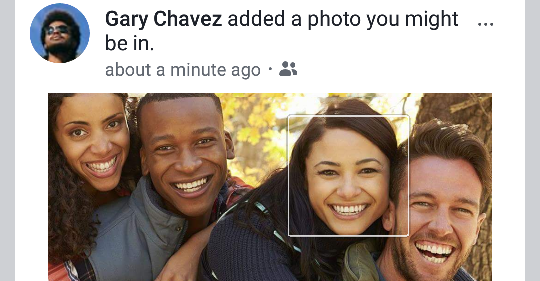facebook facial recognition photo review