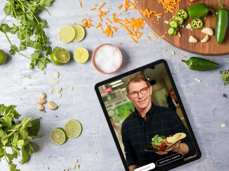 Food Network Kitchen Brings Live Interactive Cooking