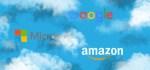 google microsoft amazon clouds
