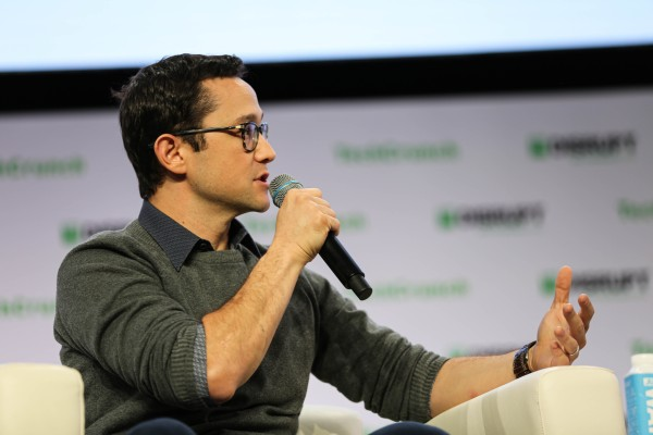 Actor-turned-HitRecord founder Joseph Gordon-Levitt says we should all get off YouTube