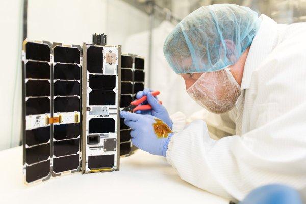 Tyvak nano satellite