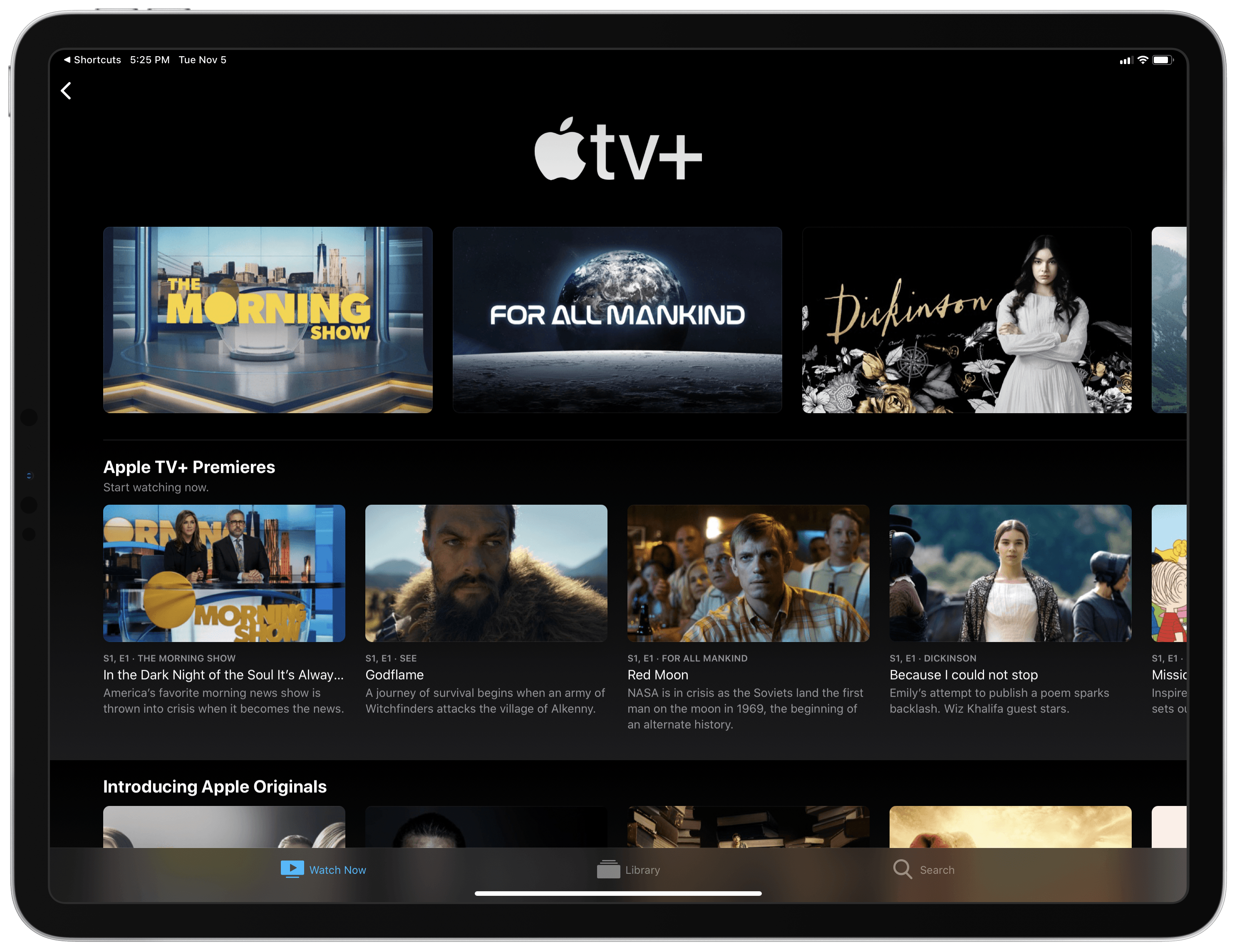 Can't find the new Apple TV+ shows, like 'Dickinson?' This shortcut can  help. | TechCrunch