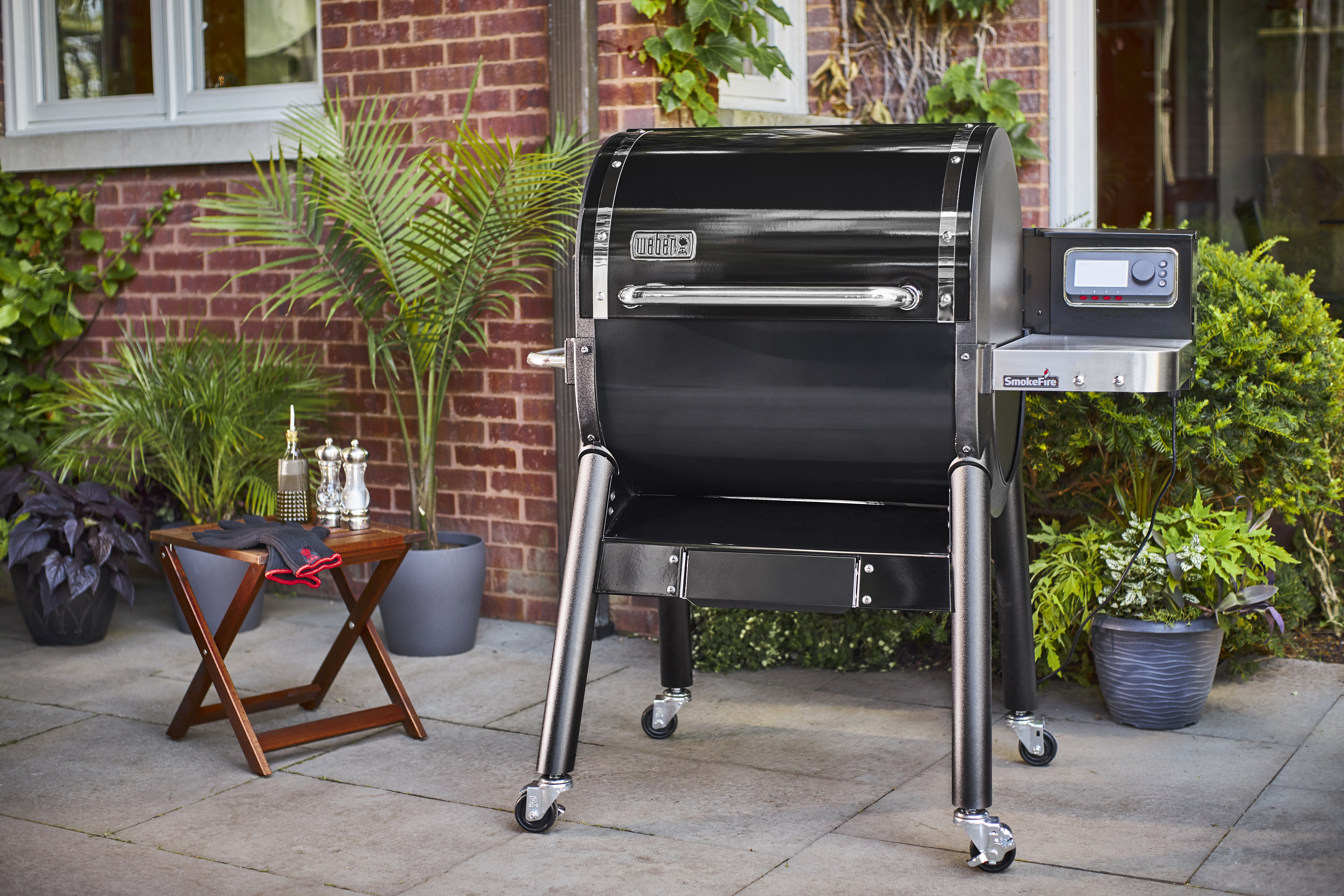 Weber S New Smokefire Pellet Grill Uses June Technology For Smart Cooking Techcrunch