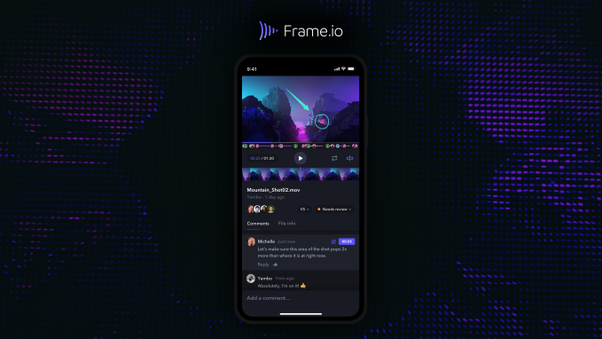 Apple Design Winning Frame.io iOS App - Cloud video collaboration platform Frame.io raises $50 million, heads to Hollywood