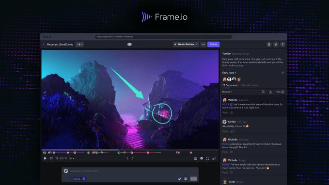 Frame.io Web Player Page - Cloud video collaboration platform Frame.io raises $50 million, heads to Hollywood