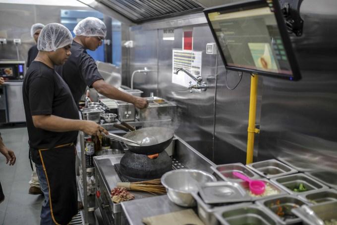 Por qué las cocinas virtuales son más lucrativas, negocios de restaurante de bajo riesgo