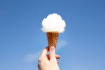 cloud ice cream cone imagine