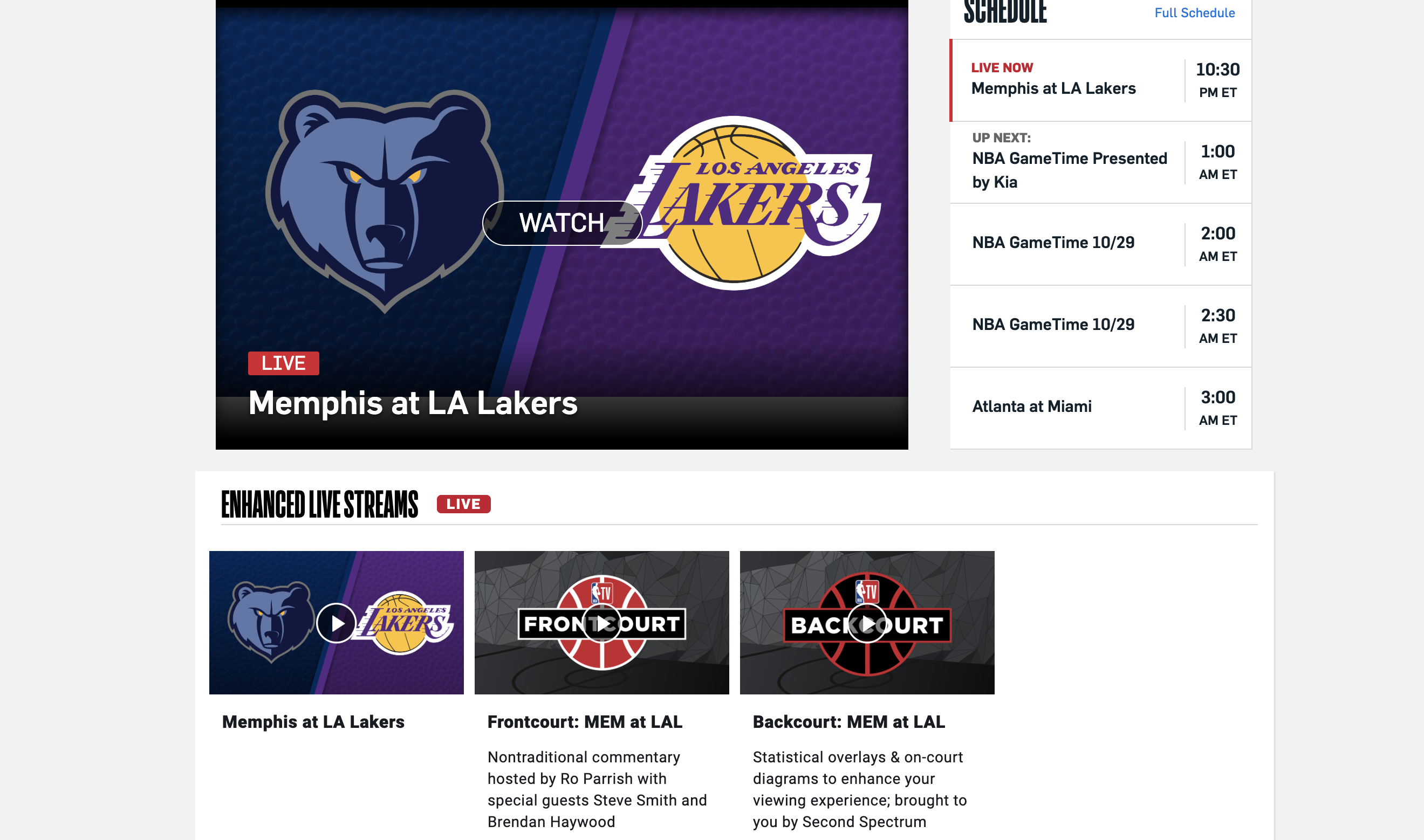 NBA TV Now Available As DTC Subscription