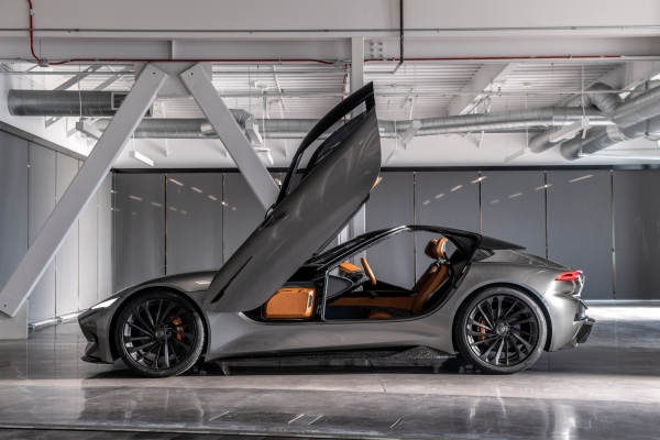 Karma's new electric hinge-winged hypercar concept goes 0 to 60 mph in 1.9 seconds