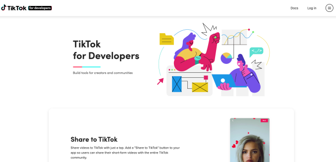 TikTok expands its influence to third-party apps with new developer program 2