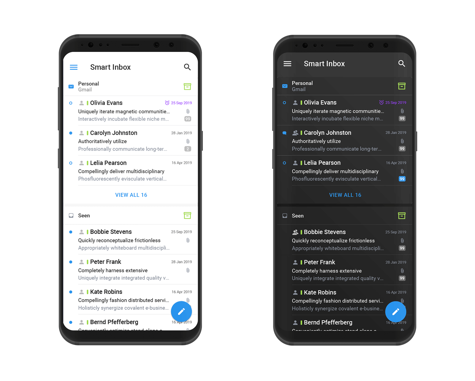 Email app Spark receives update with new design