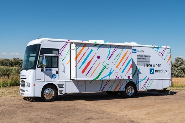 Ucla mobile surgical lab exterior