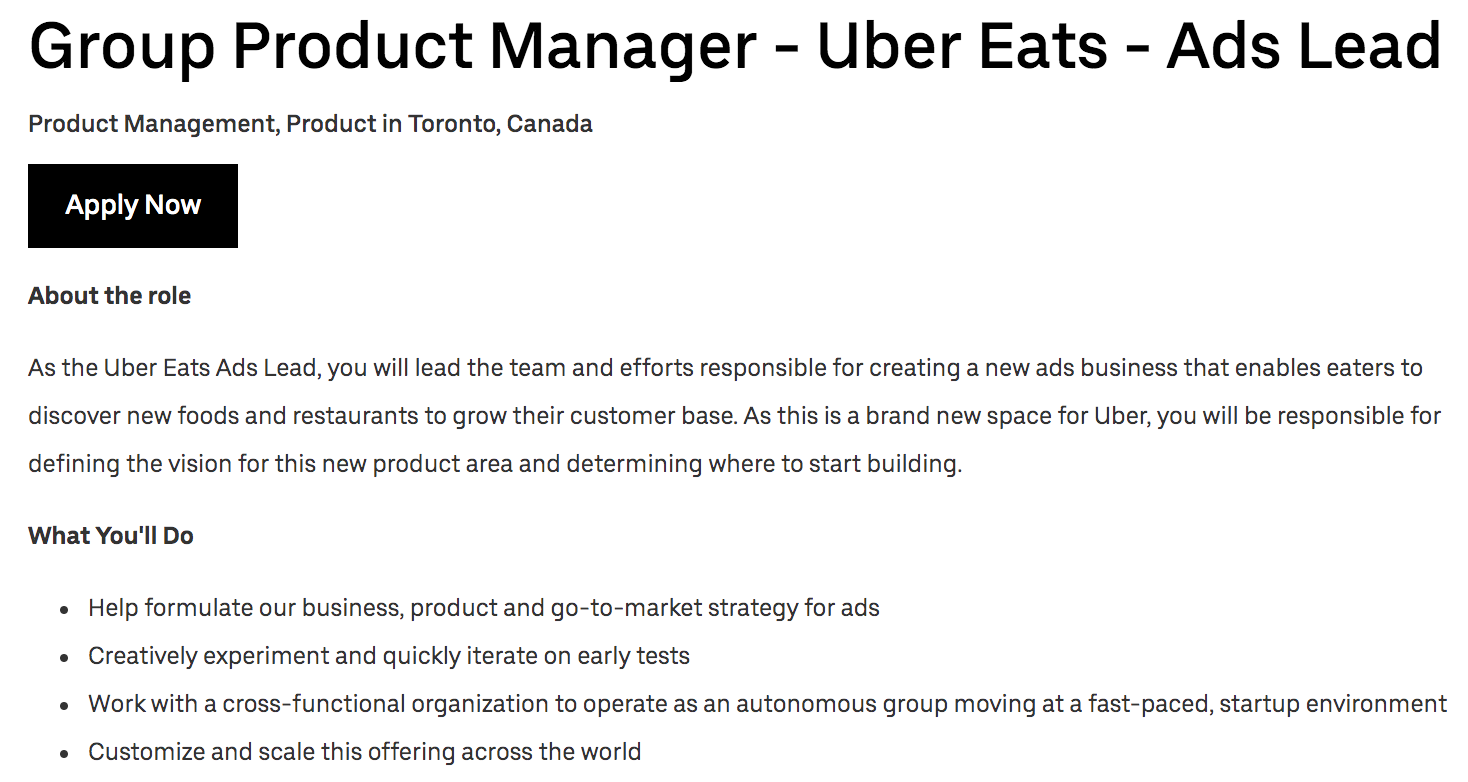 Uber Is Entering The Ads Business Techcrunch