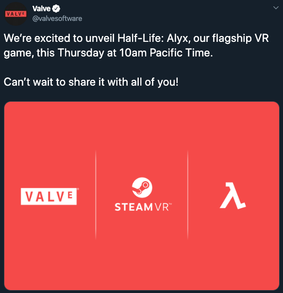 New Half-Life: Alyx Announced as VR Game