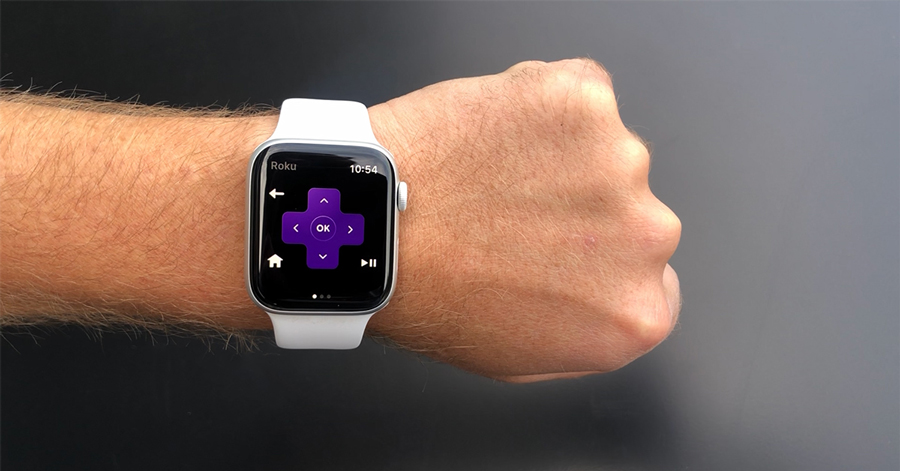 Roku app turns Apple Watch into a remote control