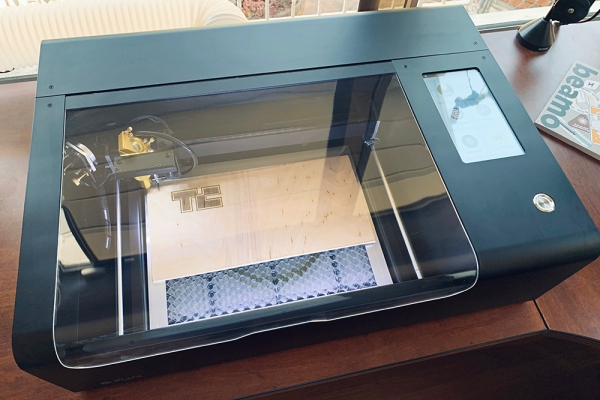The Flux Beamo is a $1500 laser cutter with simple but powerful software