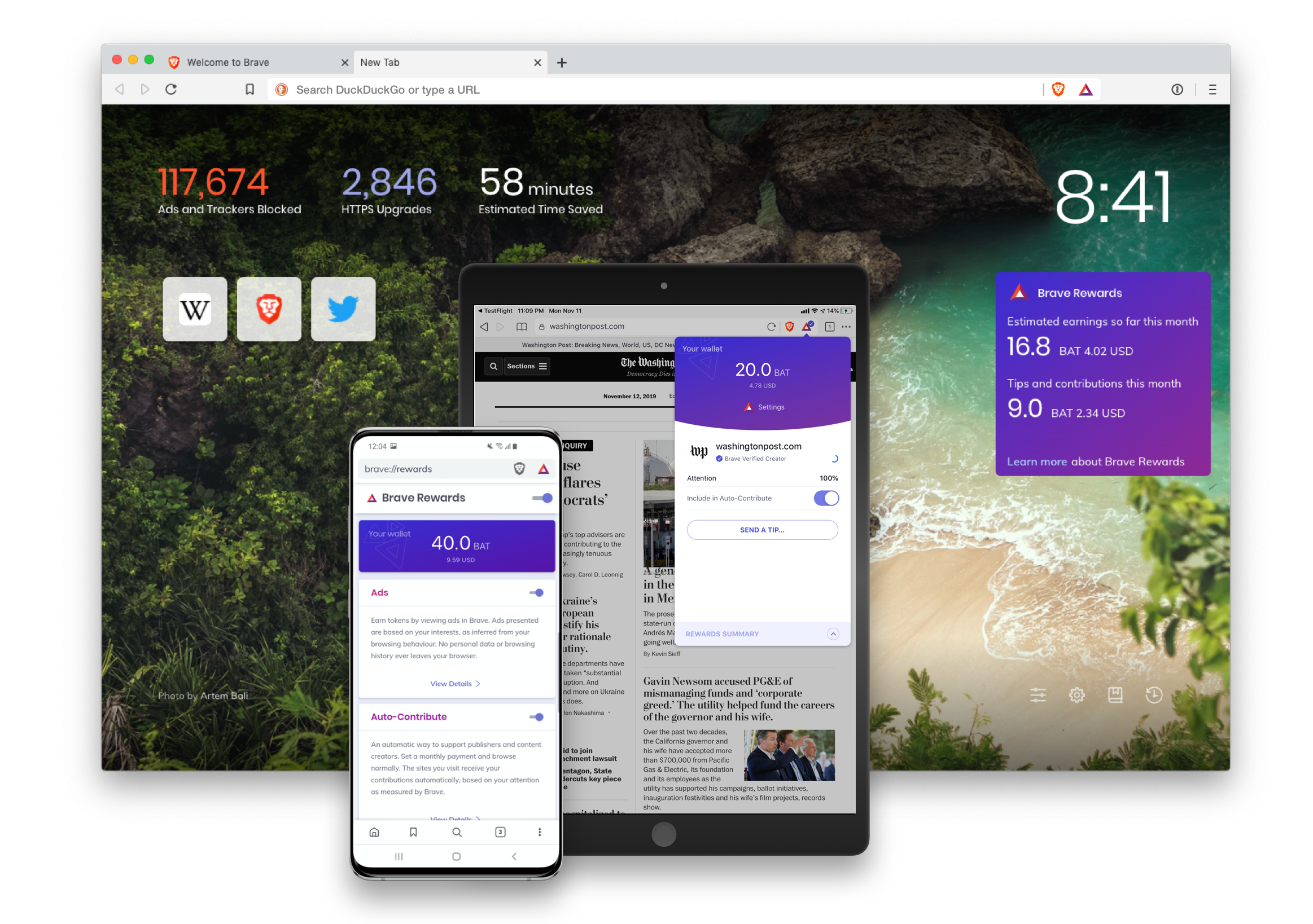 Tracker-blocking browser fearless comes out of beta