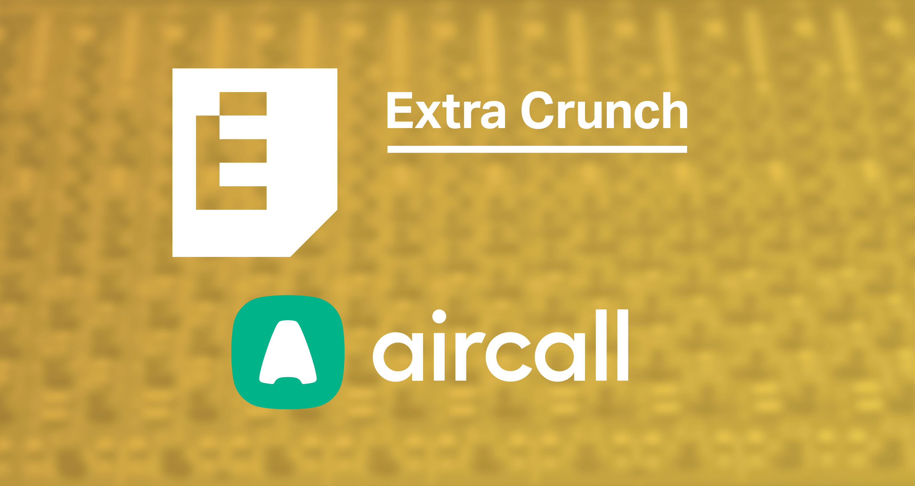 Aircall annual extra crunch members get a discount on aircall