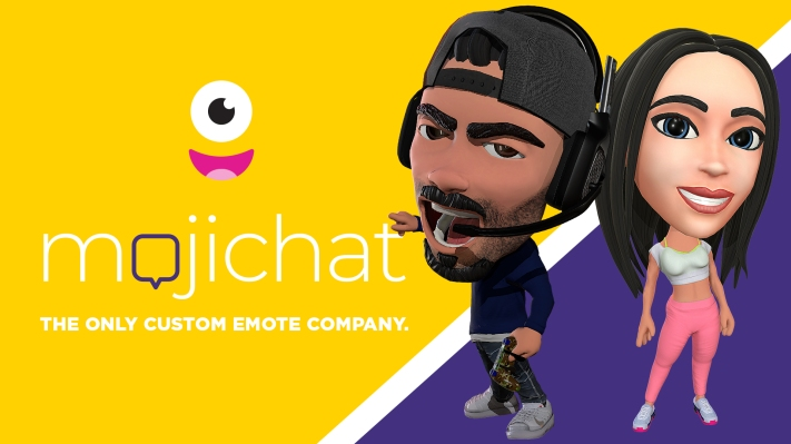 Mojichat is partnering with Streamlabs to create customized emotes of streamers