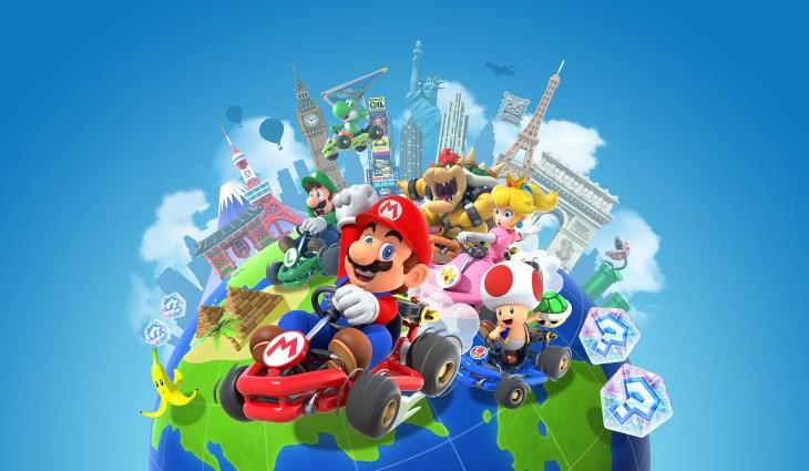 لعبة Mario Kart Tour