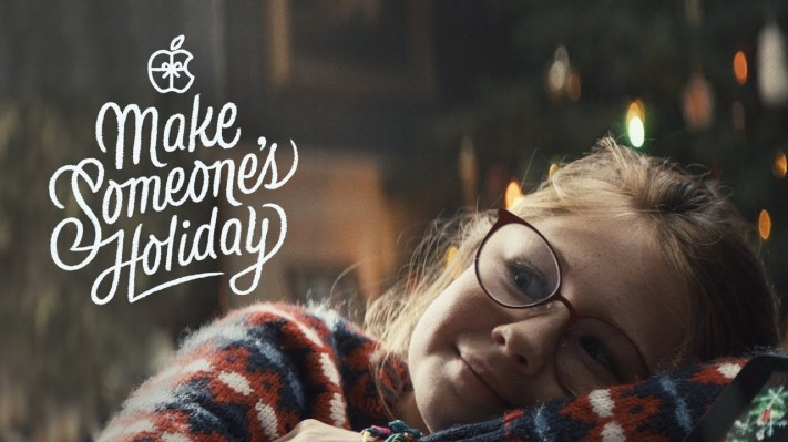 Apple releases holiday ad