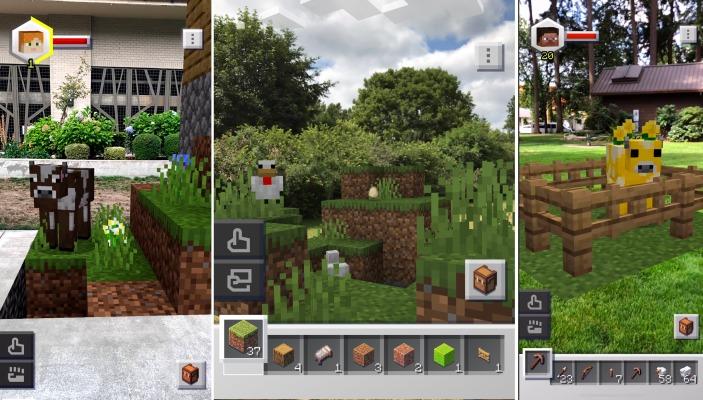 Minecraft earth screens