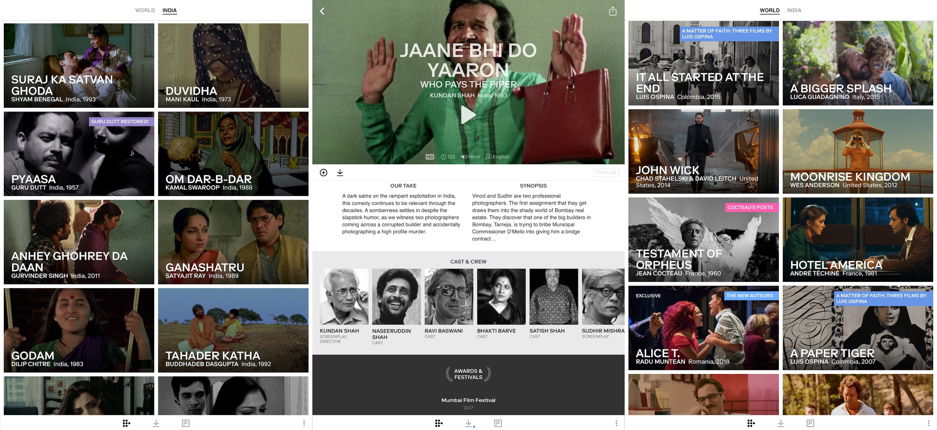 Mubi Launches Streaming Service In India Techcrunch