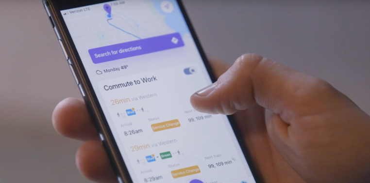 Pigeon, a 'Waze for public transit' from Google's Area 120, expands across the U.S.