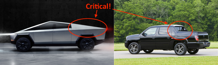 Why Are Trucks So Expensive >> Here S Why The Tesla Cybertruck Has Its Crazy Look Techcrunch