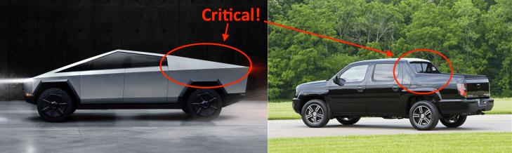 Here S Why The Tesla Cybertruck Has Its Crazy Look Techcrunch