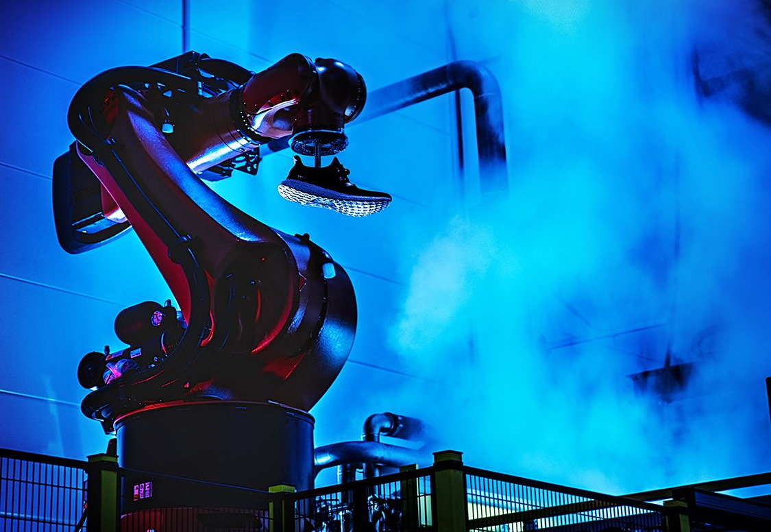 Adidas backpedals on robotic shoe