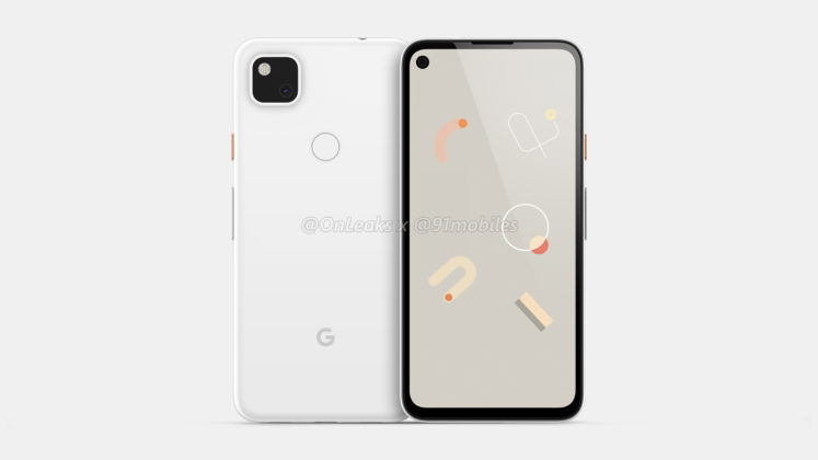 Google Pixel 4a Renders Include A Headphone Jack And Hole Punch