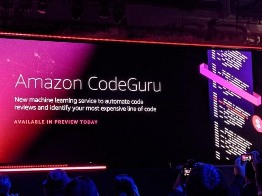 AWS' CodeGuru uses machine learning to automate code reviews
